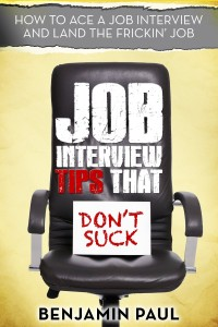 Benjamin Paul - Job Interview tips